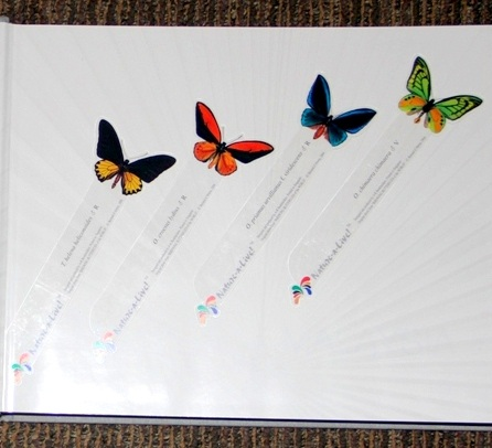 Bookmarks: Butterfly