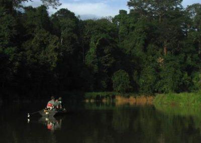 Boat ride Ulu Muda
